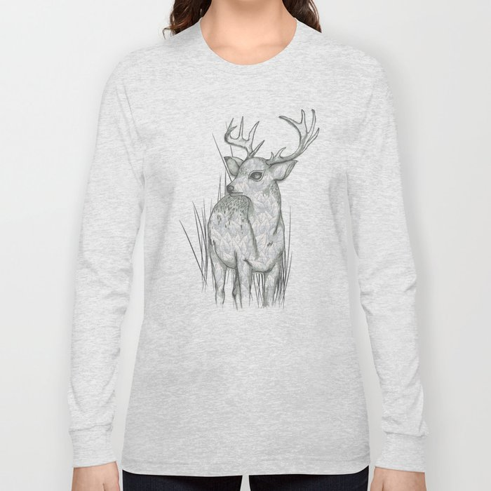 White-Tailed  Long Sleeve T-shirt