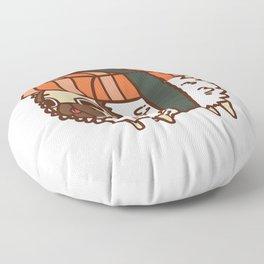 Puglie Salmon Sushi Floor Pillow
