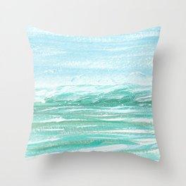 Seagull Serenade Throw Pillow