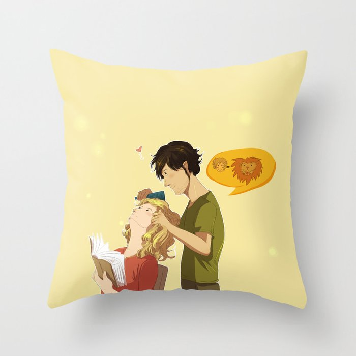 Enjolras et Grantaire Throw Pillow