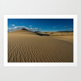 Killpecker Sand_Dunes I - Sweetwater_County, WY Art Print