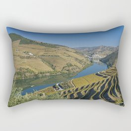 Vineyards in the Douro Valley, Portugal Rectangular Pillow