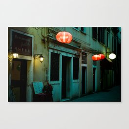 The Chinese in Venice Canvas Print