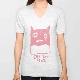 Oh Too Bat Unisex V-Neck