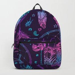 Ultra Violet Dreams, Dream Catcher Enchantment Backpack