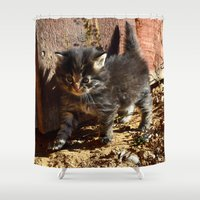 chewbacca Shower Curtains featuring Chewbacca reborn  by North 10 Creations