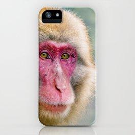 Snow Monkey iPhone Case