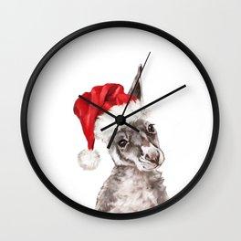 Christmas Baby Kangaroo Wall Clock