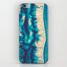 Blue Agate Water Element iPhone & iPod Skin