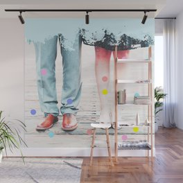 Mr & Mrs #society6 Wall Mural