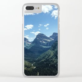 Glacier Valley Clear iPhone Case