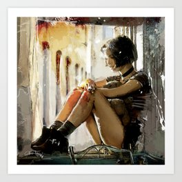 Mathilda - Leon the Professional Art Print