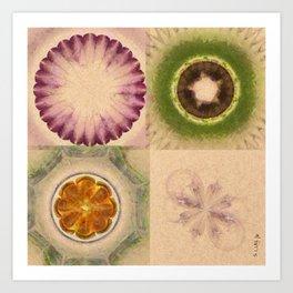 Carpincho Wraith Flower  ID:16165-041255-38370 Art Print
