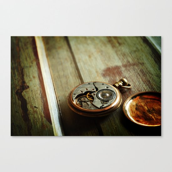 The Conductor's Timepiece - 2 Canvas Print