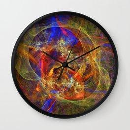 Azifractalus Wall Clock
