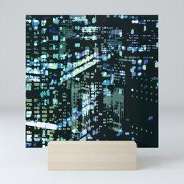 City Never Sleeps 2 Mini Art Print
