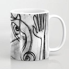 Abstract Nude Goddess No. 40K by Kathy Morton Stanion Coffee Mug