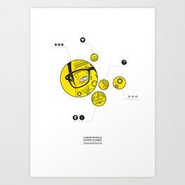 labor pains. (ii) Art Print