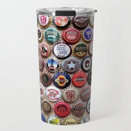 Beer & Ale Caps #2 Travel Mug