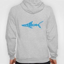 Stop Shark Finning (blue) Hoody