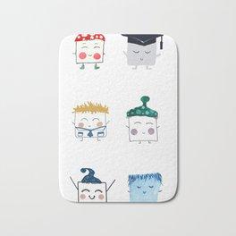 MyHappySquare Collection Bath Mat