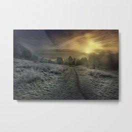 Frozen Loose Valley Metal Print