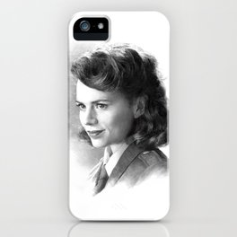 Peggy iPhone Case