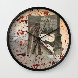 Collage 2013 001 Wall Clock