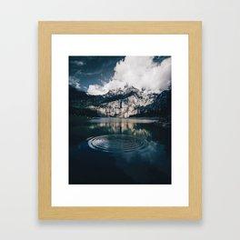 Ripples (Color) Framed Art Print