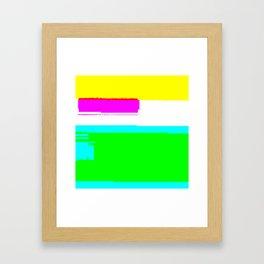 Unstable child Framed Art Print