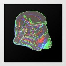 Neon Trooper Canvas Print