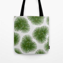 Fan Palm, Tropical Decor Tote Bag
