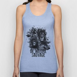 DE NATURE SAUVAGE Unisex Tank Top