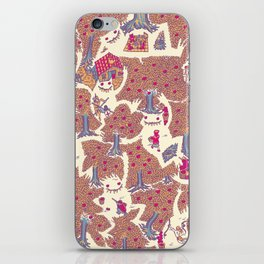 The orchard is such a very silly place iPhone Skin