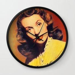 Lilli Palmer, Vintage Actress Wall Clock
