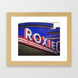 Vintage Theater Sign, San Francisco Framed Art Print