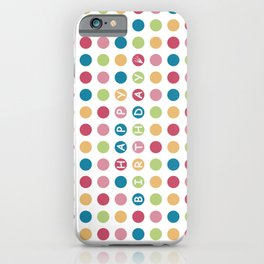 Polka Dots Color - Happy Birthday iPhone Case