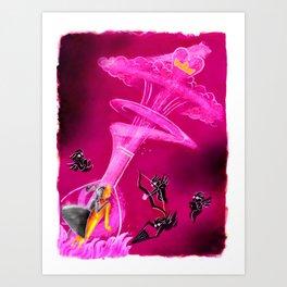 Alchemistry! Art Print