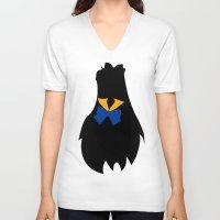 sailor venus V-neck T-shirts featuring Sailor Venus by hunnydoll