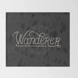 Wanderer Throw Blanket