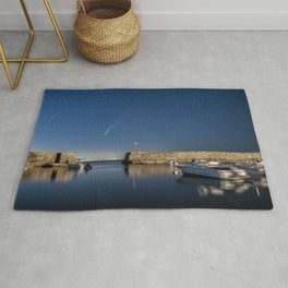 Comet Neowise at Lanes cove Rug