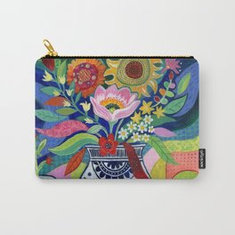 Late Summer Blooms Carry-All Pouch