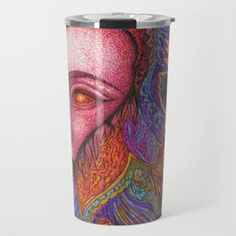 Queen of Feathers Travel Mug