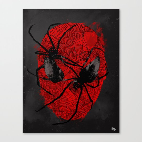 Crawly Eyes Canvas Print