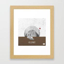 Hellophant Framed Art Print