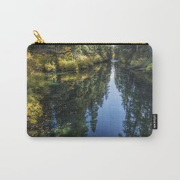 A Watery Avenue of Trees Carry-All Pouch