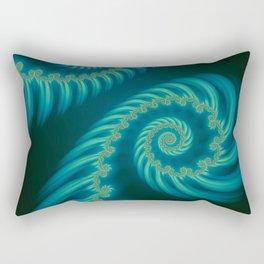 Entering the Vortex - Fractal Art Rectangular Pillow