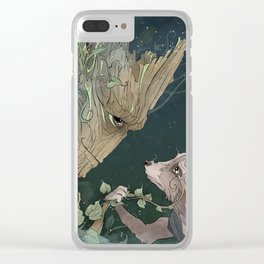 We Are Grt Clear iPhone Case