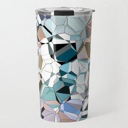 Abstract Geometric Shapes Travel Mug