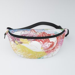 Raccoon Distressed Fanny Pack